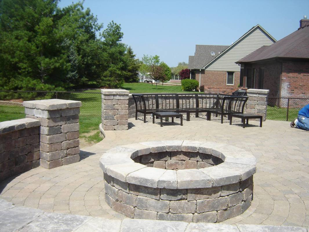 one of our outdoor living spaces