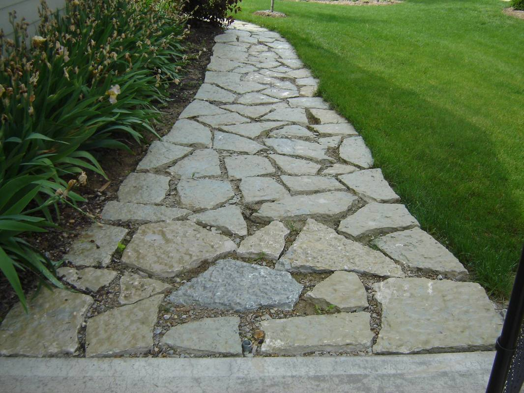 stone pathwalk we've built in carmel, indiana